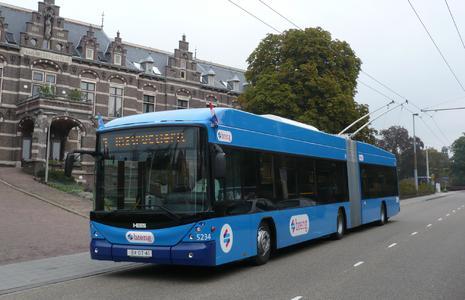 Emission-free public transport in Arnheim/NL
