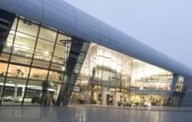 Der erste Tag der Fassadenberater-Fachtagung führte die Teilnehmer ins Audi Kundenzentrum nach Neckarsulm © Audi AG