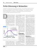[PDF] Pressemitteilung: Fehler-Erkennung in Netzwerken
