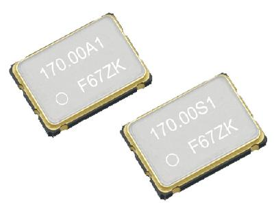 The programmable oscillators with spread-spectrum capability have extended temperature range and high-stability