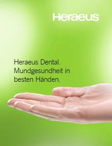 Auf den Punkt gebracht: Heraeus gibt Zahnärzten und Zahntechnikern an die Hand, was sie für ihre tägliche Arbeit brauchen