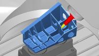 Die Bearbeitungssimulation kann auf der AMB als virtuelle Realität erlebt werden / Quelle: OPEN MIND
