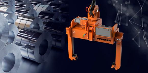 PFEIFER is presenting the latest lifting trends in the section of coil handling at the Blechexpo