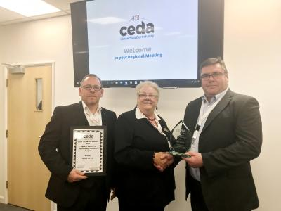 Meiko UK erhält die zweite CEDA-Auszeichnung in diesem Jahr