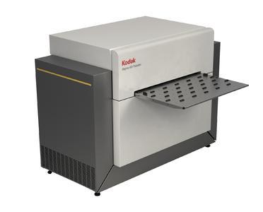 Mit einem neuen KODAK MAGNUS 400 III QUANTUM Plattenbelichter holt sich die Druckerei Lutz AG die KODAK SQUARESPOT Thermobebilderungstechnologie ins Haus