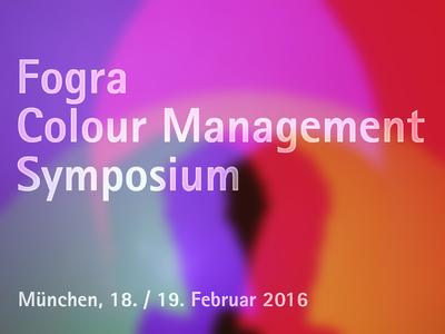 "Logo ""Colour Management Symposium"""