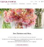 Blumen online bestellen: casaflora.de