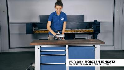 Universelles Werkbankgerät bankmaster® MONO S - Vakuum-Spannsystem