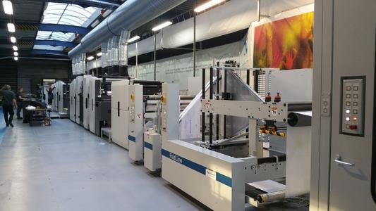 Die digitale Druckanlage bei Imprimerie 'Avesnois ist mit ihrem Workflow eine Premiere in Europa und wird Wochenzeitungen drucken  / Foto: manroland web systems
