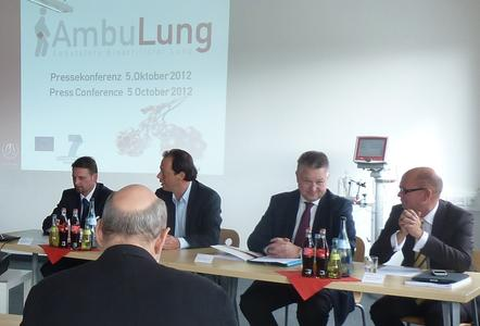 V.l.n.r.: Josef Bogenschütz, Georg Matheis, Michael Georg Link, Thomas Villinger (Foto: Novalung GmbH)
