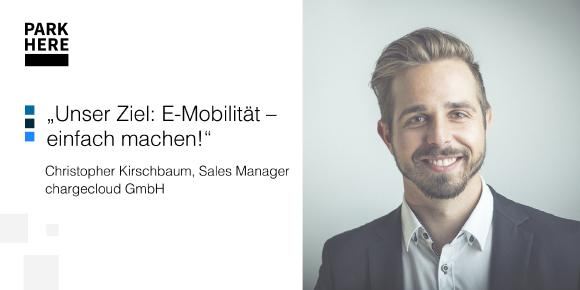 Christoph Kirschbaum, Leiter des Sales Teams bei chargecloud