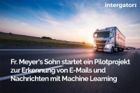 Die Fr. Meyer's Sohn (GmbH & Co.) KG setzt bei der E-Mail-Klassifizierung auf Machine Learning Verfahren der interface projects GmbH
