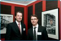easycash Holding GmbH Geschäftsführer Marcus W. Mosen und Rechtsanwalt Christian Walz von der Sozietät Aderhold Gassner (v.r.n.l.)