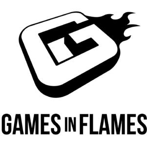 Games In Flames Logo