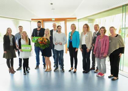 Team des Bildungshauses Pflege Bad Krotzingen gewinnt B. Braun-Preis 2015