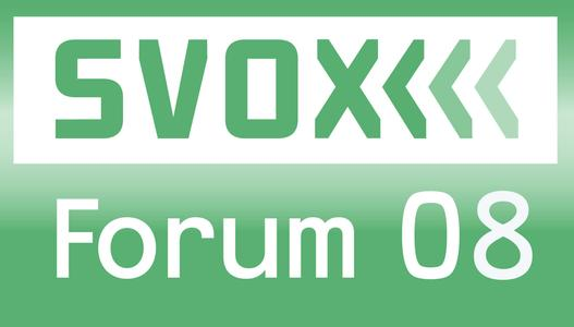 SVOX Forum 2008