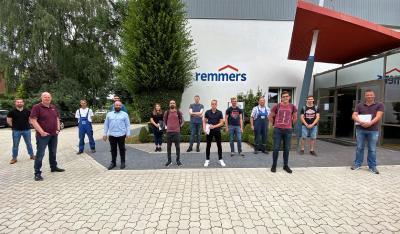 Die Auszubildenden der technischen Berufe bildeten die dritte Gruppe der Berufseinsteiger / Bildquelle: Remmers, Löningen