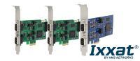 CAN-Erweiterungskarten von HMS Networks / Ixxat für den Einsatz im Automotive-Bereich