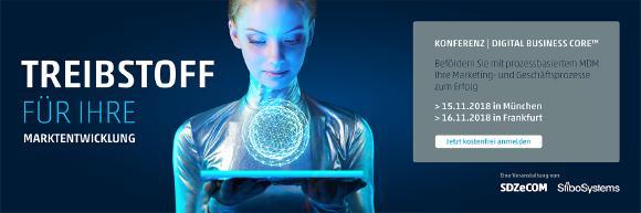 Digital Business Core Konferenz - SDZeCOM und Stibo Systems