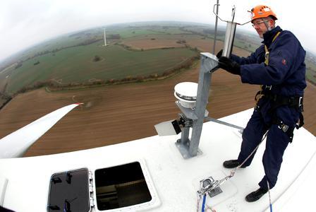 """Auf der VDI-Fachkonferenz """"Instandhaltung von Windenergieanlagen"""" am 28. und 29. August 2012 in Bremen diskutiert die Branche neue Service- und Wartungskonzepte (Foto: VDI Wissensforum / Kenersys Europe)"""