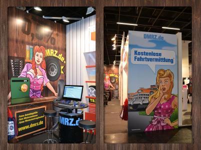 DMRZ.de auf Europäischen Taximesse in Köln