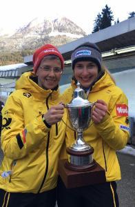 Jacqueline Lölling und ihrer Trainerin Kathi Wichterle