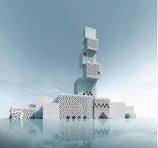 CubeTower Foshan CN 坊塔1