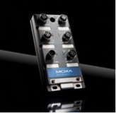 Compact IP67 Unmanaged Switch from Moxa – EDS-305-M12