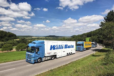 Transics wird bis Jahresende rund 370 Nutzfahrzeuge der europäischen Flotte von Willi Betz mit TX-SKY Bordcomputern und der Backoffice-Software TX-CONNECT ausstatten und so zur Steigerung der Effizienz beitragen