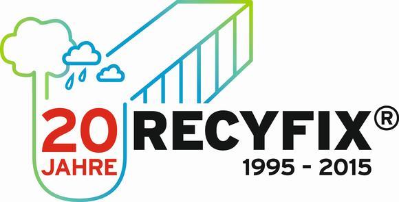 Logo 20 Jahre Recyfix