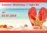 Sommer Workshop @ Agfa NV