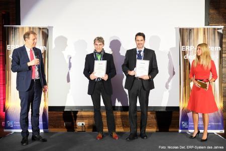 OPTIBIT erringt mit MainDesk den zweiten Platz bei der Verleihung des ERP-Systems des Jahres
