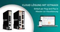 Cloud Lösung mit IoTmaxx – Einfach mit Plug-and-Play.