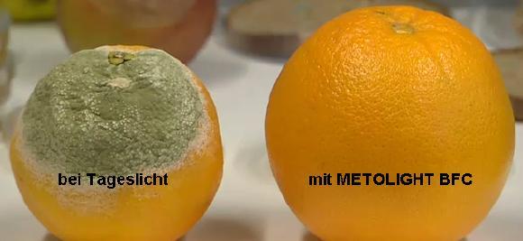 Wirkung METOLIGHT LED-Röhren Serie BFC-SCE