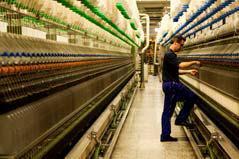 Ein hochmoderner und effizienter Maschinenpark trägt dazu bei, dass den Kunden exzellente Qualitäten angeboten werden können, Foto: Textil Santanderina, S.A.
