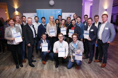 Siegerteams Businessplan Wettbewerb Nordbayern 2019, Phase 1
