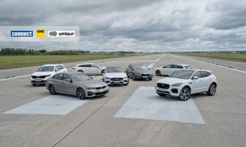 Mercedes-Benz gewinnt Car-Connectivity-Test von ADAC, connect und umlaut, dicht gefolgt von BMW