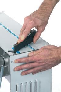 pullworker das ideale werkzeug zum schnellen abziehen der schutzfolien von blechen. Black Bedroom Furniture Sets. Home Design Ideas