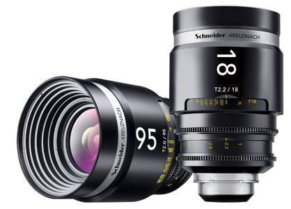 Pressefoto: Das neue Cine-Xenar 18mm MPTV-Objektiv