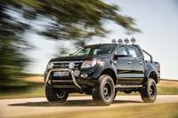 Ford Ranger Kentros mit Mickey Thompson und Beadlook Felgen: Reifen 305/60 R18 Mickey Thompson ATZ, Felge delta Beadlook black 9x18; 100mm BodyLiftKit and 40mm SuspensionDistanceKit. Photo: delta4x4