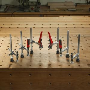 Range Overview - Clamping elements for workbenches