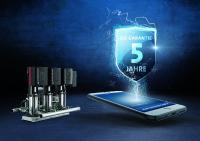 Neu für Druckerhöhungsanlagen - 5 Jahre Sicherheit ab Inbetriebnahme mit der Grundfos Go Garantie