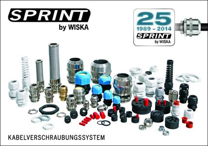 25 years of WISKA SPRINT cable gland system