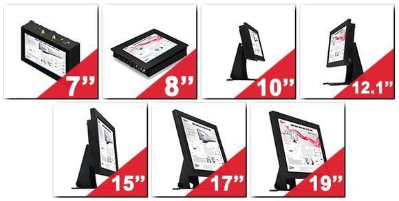 Resistive Touchscreen-PCs