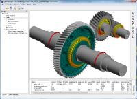 Consideration of Elastic Gear Bodies and Bearing Rings in Gearbox System