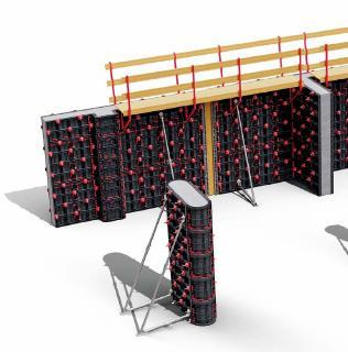 Geopanel erlaubt, Wände und Mauern von jeder Höhe und Dicke zu realisieren. Die breite Auswahl von Produkten und Größen erfüllt jede Anforderung. Das Kunststoffmaterial der Elemente (ABS) ermöglicht eine extrem glatte und homogene Oberfläche und eine hohe Qualität. Durch die Leichtigkeit des Materials (max 11 kg) kann man die Elemente extrem schnell bewegen und montieren, auch mit einem einzigen Handwerker.