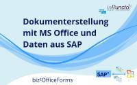 Dokumentvorlagen für SAP bequem in MS Word erstellen