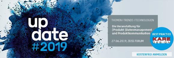 Best Practice Vortrag von KARE Design auf der update #2019