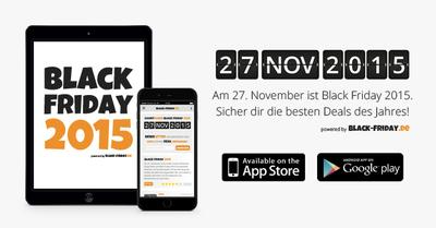 black pr sentiert die black friday 2015 app. Black Bedroom Furniture Sets. Home Design Ideas