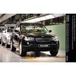 Der 500 000 BMW X3 läuft vom Band (06/2008)
